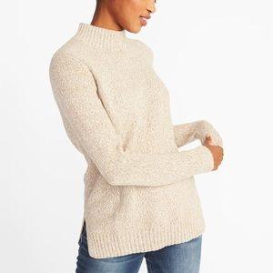 Old Navy Marled Mock Neck Sweater